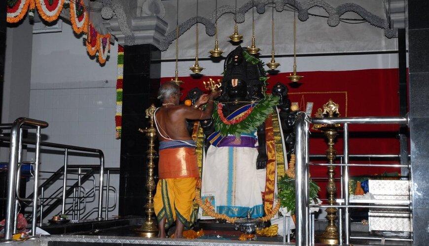 Panchamuga Anjaneyar Temple